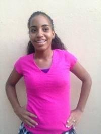 Carolay Uribe. Edad 15 anos.