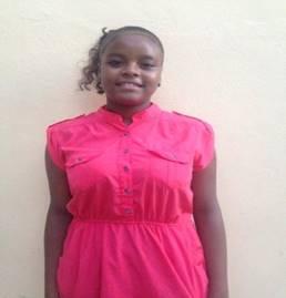 Leandra Mercedes Castillo. Edad 13 anos.