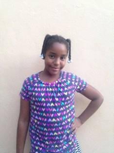 Lorena Corterreal. Edad 11 anos.
