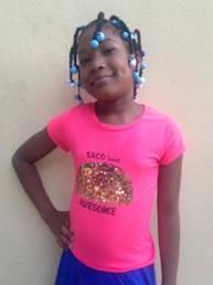 Mildred Ribota Russel. Edad 8 anos.