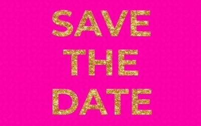 SAVE THE DATE BENDECIDAS y BELLAS Primera Reunión 2020